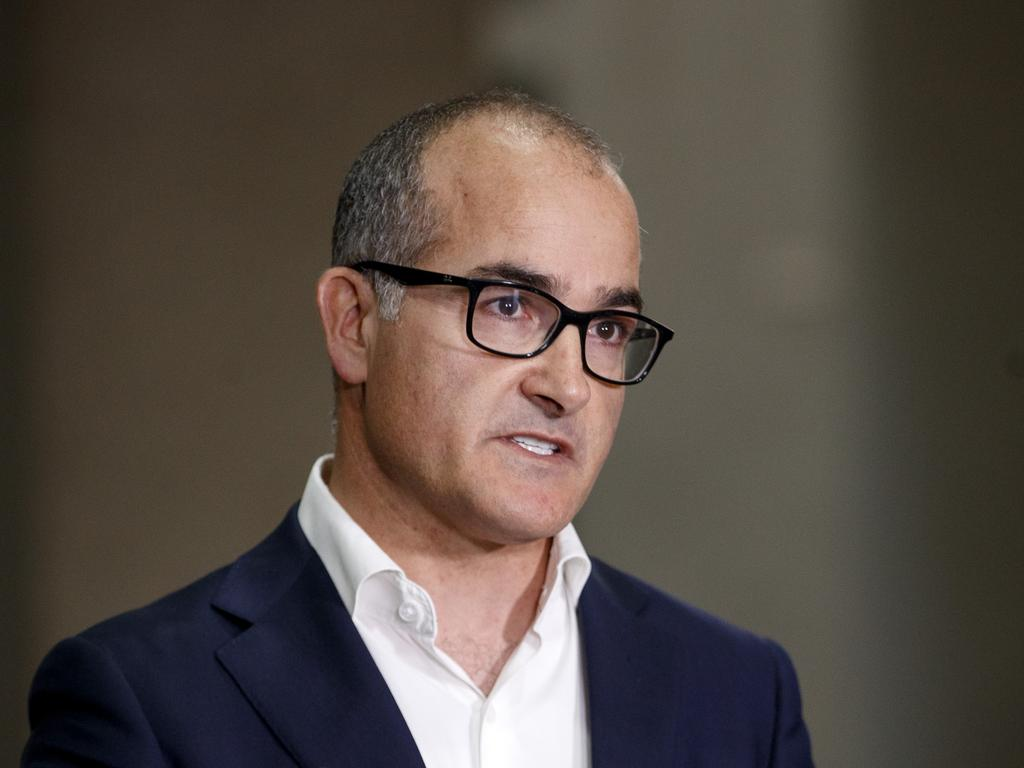 Acting Premier James Merlino says the seven-day circuit breaker served as a reminder for people eligible to get the Covid-19 vaccine, to come forward. Picture: NCA NewsWire / David Geraghty