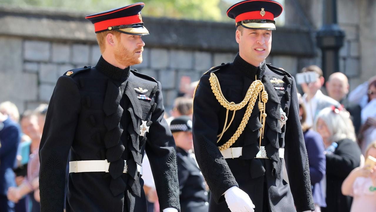 Harry and William are said to be planning to reunite this year in the UK, and are currently spending time talking on the phone. Picture: Gareth Fuller/WPA Pool/Getty Images