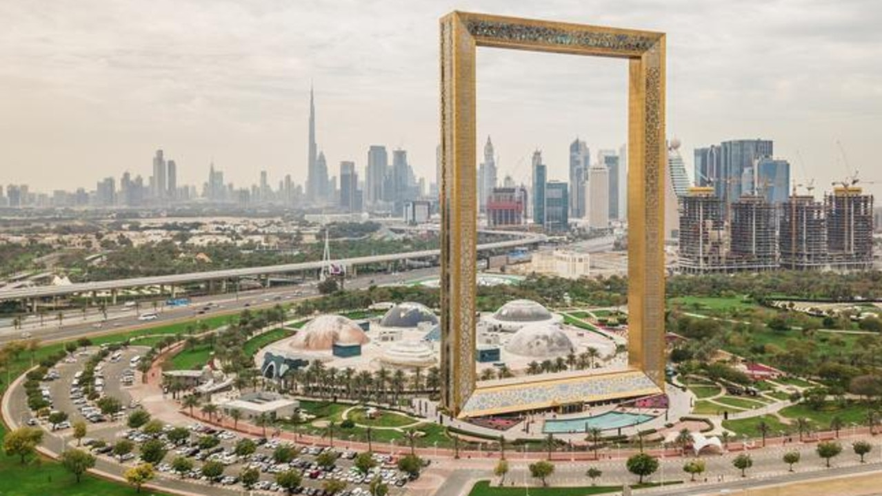 Dubai Frame, United Arab Emirates.