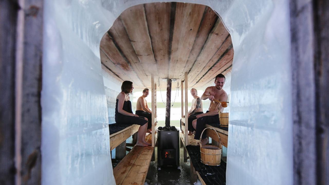 Get your sauna on in Finland. Picture: Harri Tarvainen/Visit Finland