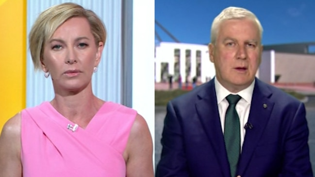 Deb Knight grills Michael McCormack over drought relief plan (Today Show)