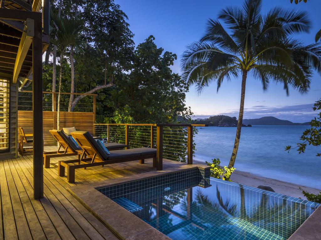 Bedarra Island in Queensland is the ultimate location to spend your post-iso holiday. Picture: Supplied