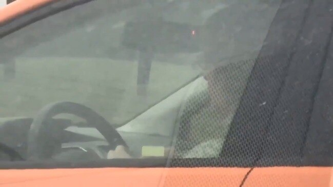 Columbus Police Share Video of Driver Knitting Behind the Wheel