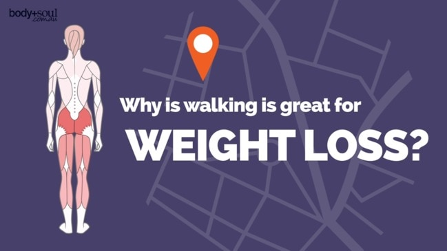 Why is walking great for weight loss?