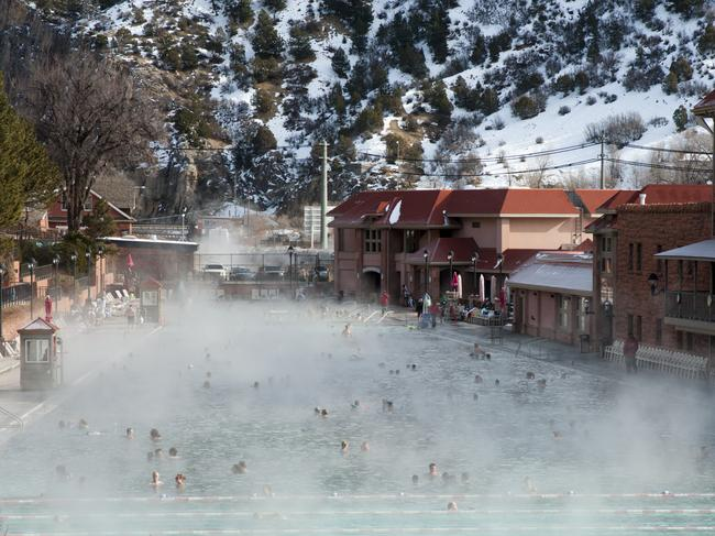 COLORADO'S HOT SPRINGS When it's cold outside, there's nothing better than a long, relaxing soak in deep, warm water.Colorado is home to more than 30 hot springs, including the world's largest mineralhot springs pool at Glenwood Springs (pictured), and the world's deepest geothermal hot spring at Pagosa Springs. The Ute Native Americans long believed in the healing properties of the natural warm springs, and we reckon they were on to something.