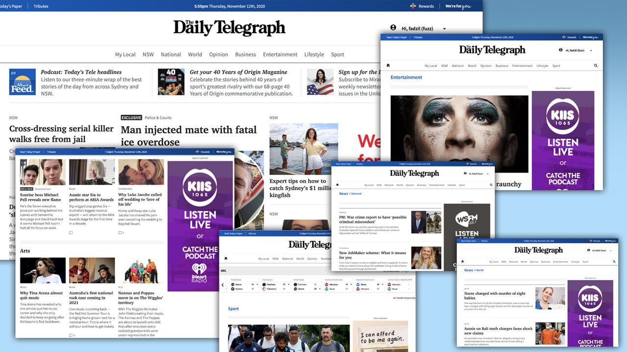 The new Daily Telegraph website is designed for speed, clarity and ease of navigation.