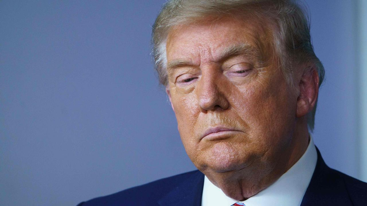 US President Donald Trump's options are dwindling when it comes to fighting the election outcome. Picture: Mandel Ngan/AFP