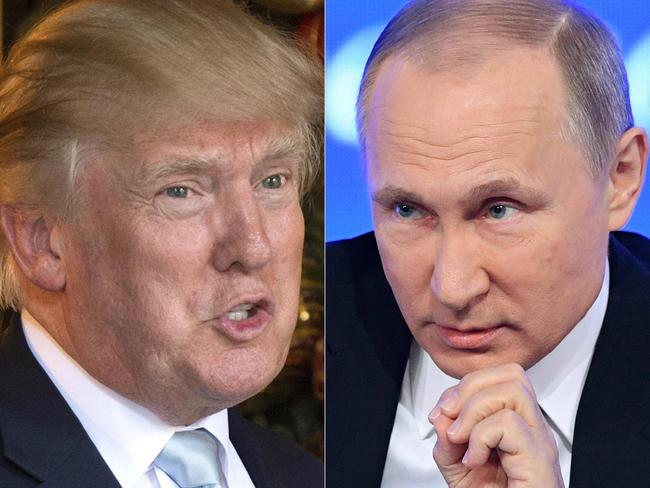 Some in Russia think that Putin has succeeded in getting 'his' candidate in the White House, one former aide to the President said. Picture: AFP PHOTO / DON EMMERT AND Natalia KOLESNIKOVA