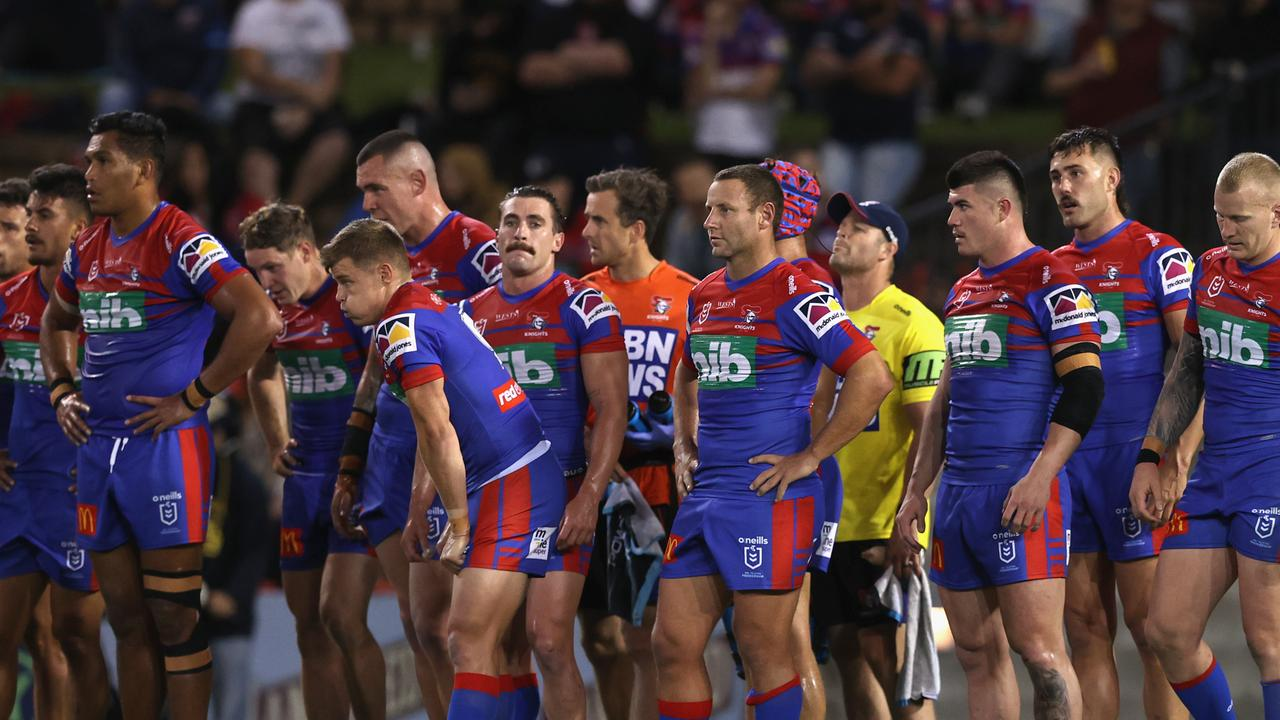 The Knights' have been accused of having no resilience in defence. (Photo by Ashley Feder/Getty Images)