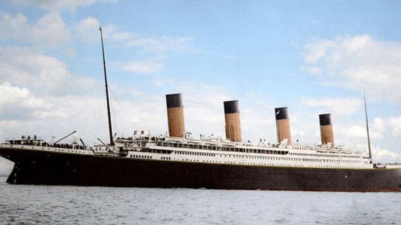 The Titanic sunk in 2012 on its maiden voyage. Picture: Anton Logvynenko