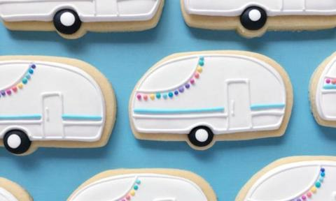 Owning a caravan is a LOT of admin. Eating them is wayyyyy more up our alley.  <i> Source: Holly Fox Designs </i>