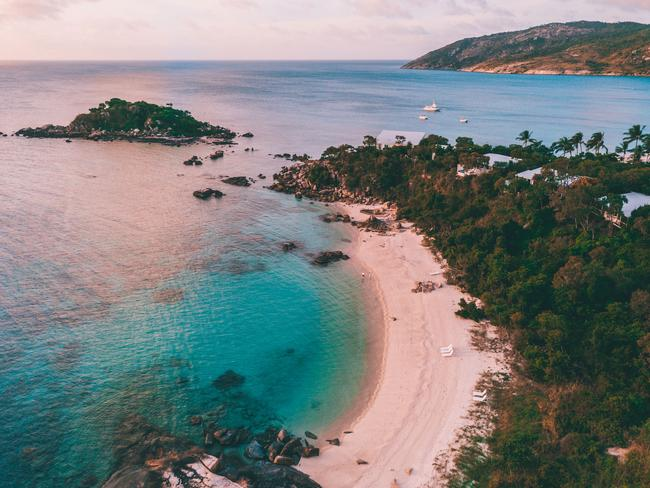 LIZARD ISLAND Leave your worries behind and spend a while on a Great Barrier Reef island. Only accessible by private charter from Cairns Airport, Lizard Island is truly secluded from the rest of the world. With warm sunsets, powdery-white beaches, and surrounded by coral, ribbon and lagoon reefs, you won't come across a more relaxing island escape to take a moment for you. Picture: Tourism and Events Queensland/Katie Purling