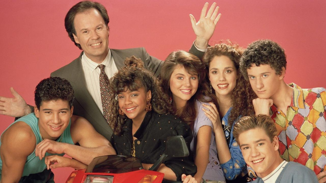 The original Saved By The Bell cast. Picture: Supplied