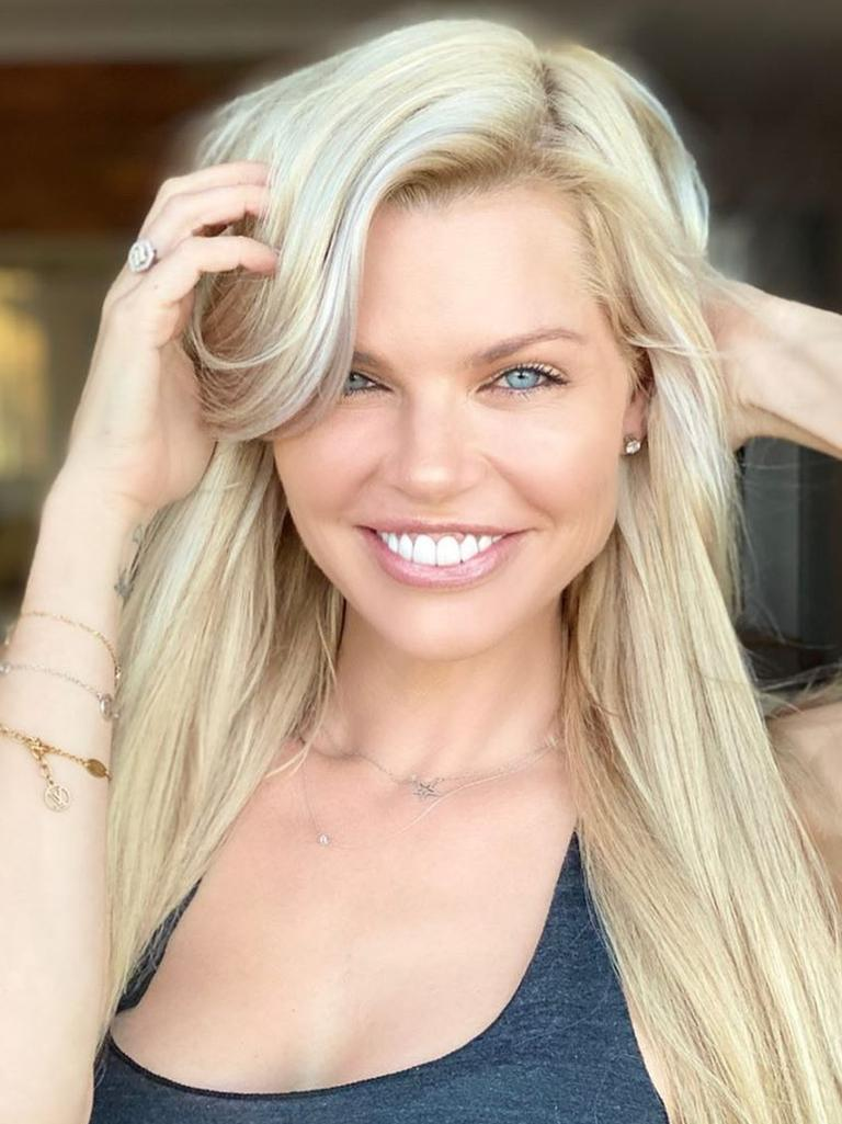 The toner works by removing brassy tones from hair. Picture: Instagram / Sophie Monk