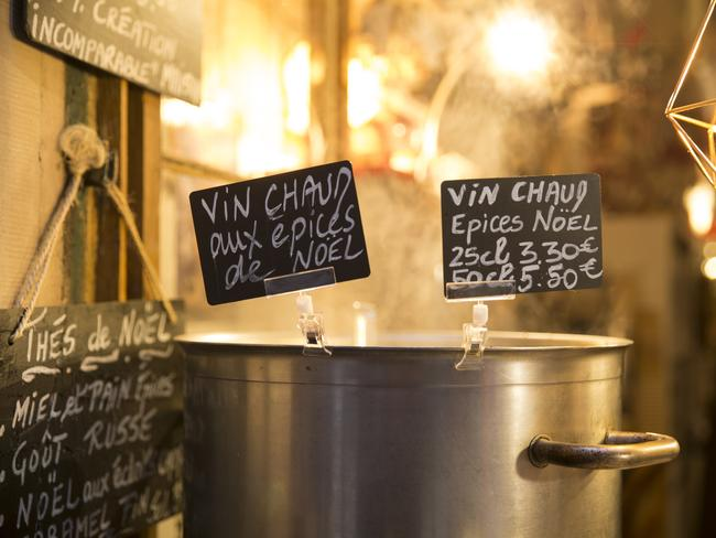 WHY GO: The highlight at this market, and at all Christmas markets in the Alsace region of France, is the Alsace mulled wine (vin chaud).