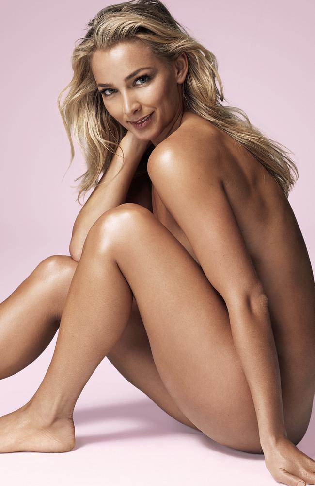 Anna Heinrich poses for Women's Health. Picture: Steven Chee, Women's Health