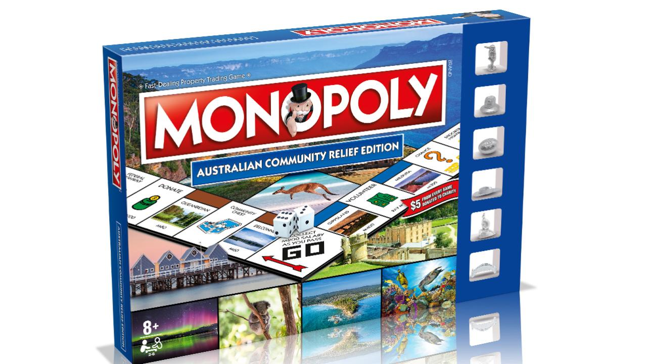The Australian Community Relief Monopoly Edition.