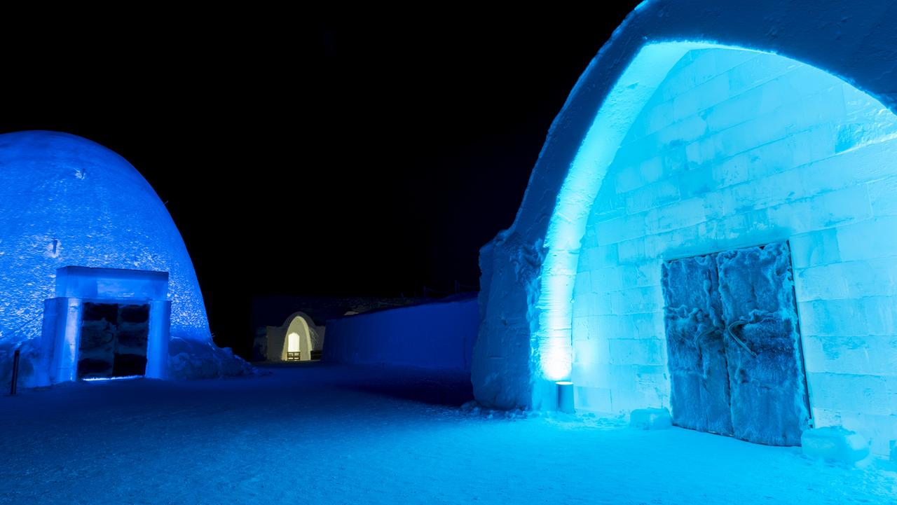 Sweden's Ice Hotel. Picture: David Evans