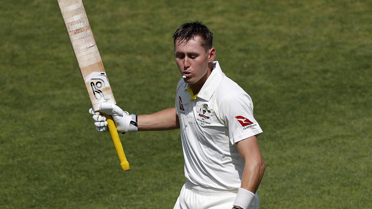Steve Waugh says Marnus Labuschagne benefited from a season in County Cricket. Photo: Getty Images