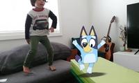 Parents are going crazy over new Bluey 'dance mode' app