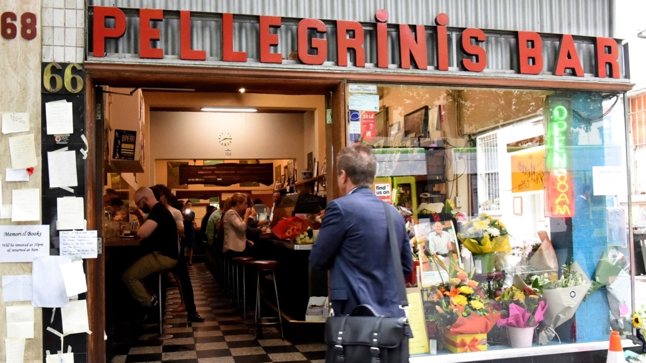 Pellegrini's opens its doors following Bourke St attack