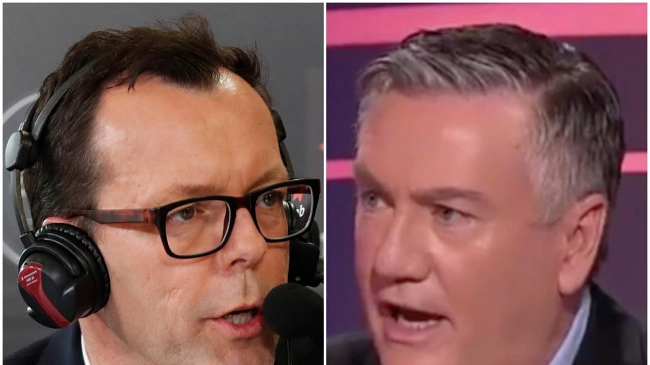 Damian Barrett is the latest media figure to criticise McGuire's 'hypocrisy'.