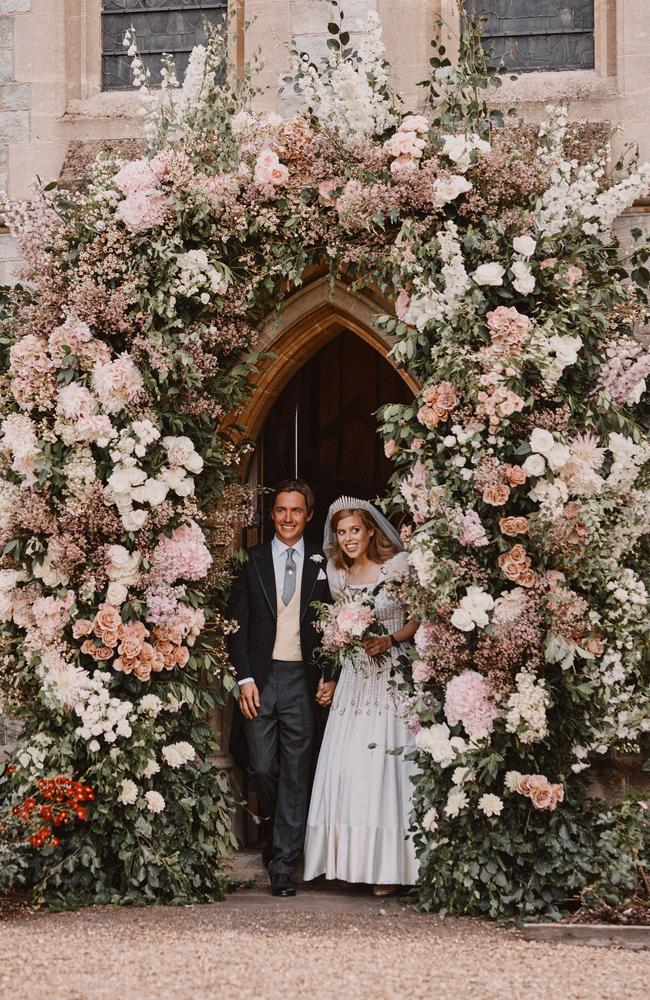 The official wedding photographs were released by Buckingham Palace. (Picture: Benjamin Wheeler/WPA Pool/Getty Images