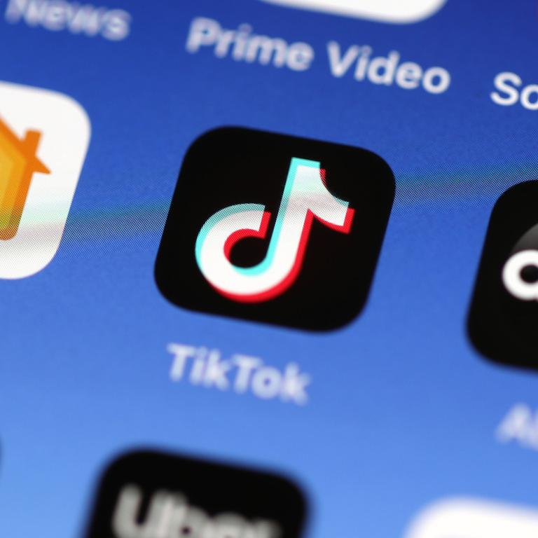 TikTok is the subject of scepticism for some governments. Picture: Justin Sullivan / Getty Images