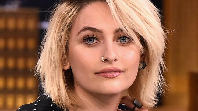 Paris Jackson visits The Tonight Show Starring Jimmy Fallon. Picture: Theo Wargo/Getty Images/AFP