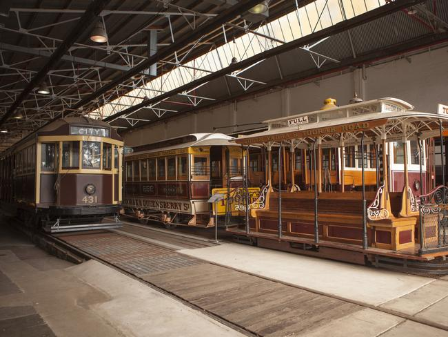 The Hawthorn Tram Depot does attract a couple of people interested in old trams, but it's not living up to its potential.