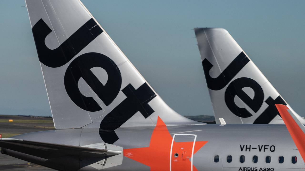 Jetstar has dropped a massive Australia-wide sale with some fares starting from $35. Picture: James Gourley/AAP
