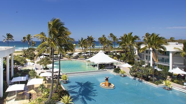 Sheraton Mirage Gold Coast is the only beachside resort. Picture: Supplied