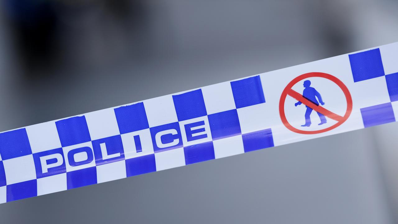 On Tuesday, police declared River Plaza Apartments a crime scene after a one-year-old boy was rushed to Queensland Children's Hospital in a critical condition. on Monday. (AAP Image/James Ross)