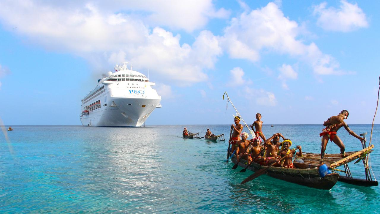 Pacific Dawn will do a great taster trip from Melbourne to Kangaroo Island next year. Picture: P & O Cruises