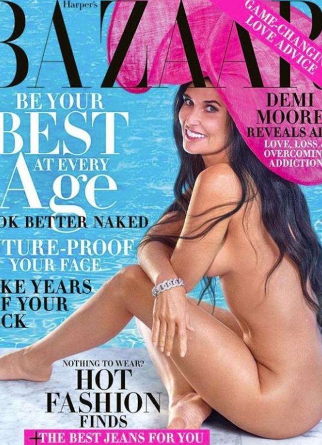 Demi's new Harper's Bazaar cover.