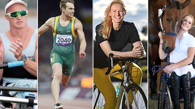 Australian's Erik Horrie, Evan O'Hanlon, Jessica Gallagher and Emma Booth.