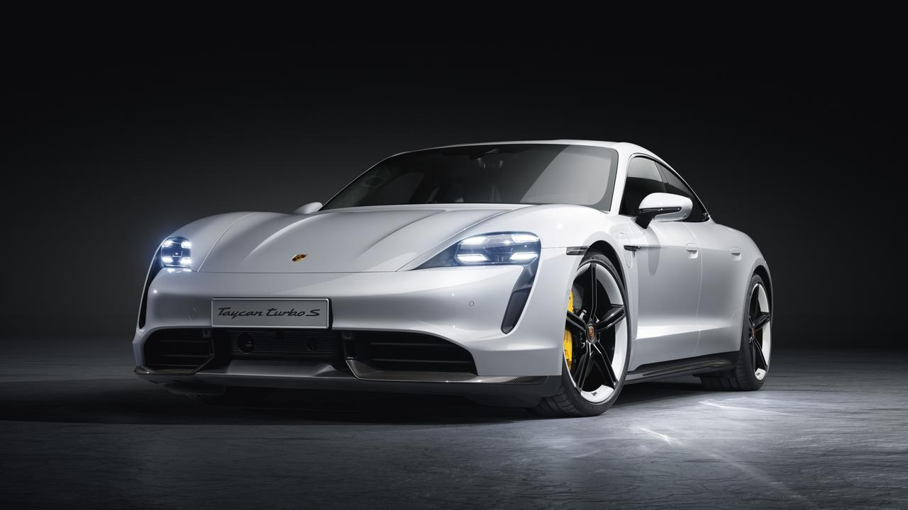 Porsche is investing heavily in electric cars such as the Taycan.