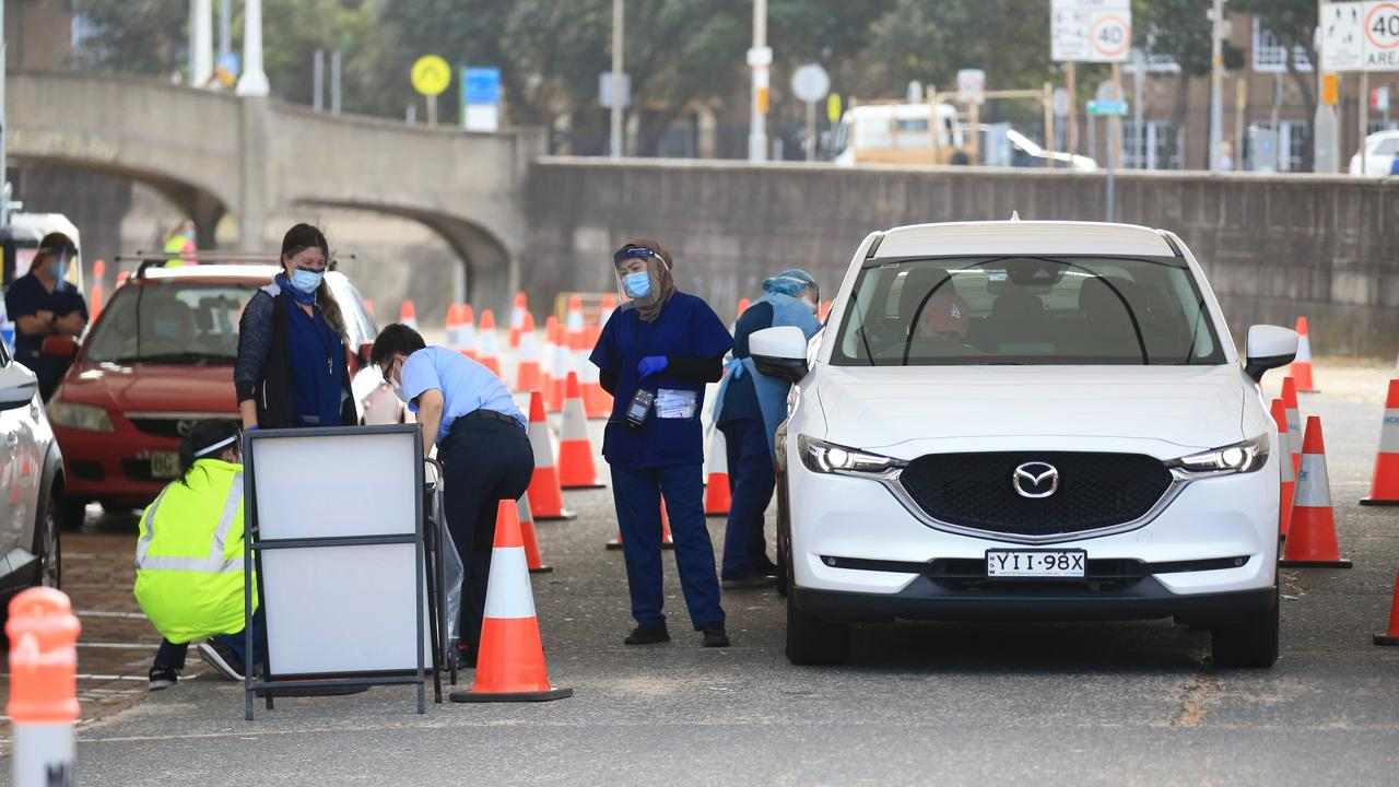 Residents have been urged to get tested and vaccinated. Picture: NCA NewsWire / Christian Gilles