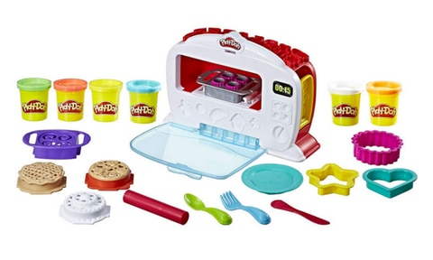 <b>5. PLAY DOH MAGICAL OVEN, RRP $39.99, AGE 3+.</b>  <p>Christmas lists are not complete without some sort of Play Doh play set. In my day it was the Fuzzy Pumper Barber Shop that we all hankered for. But these days, there are so many to choose from. This magical oven is my pick of the bunch.</p>