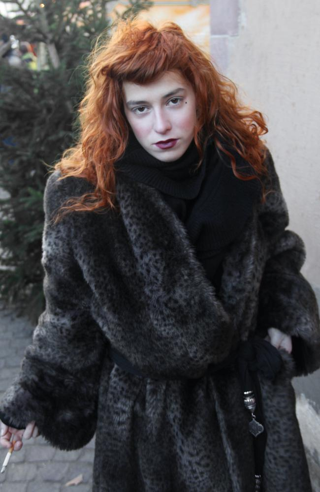 Who doesn't love a bit of faux fur? Picture: Four Eyes.
