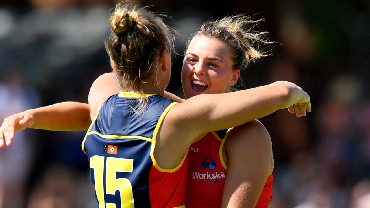 Adelaide's Ebony Marinoff has opened up about a tough past fortnight. Picture: Sam Wundke