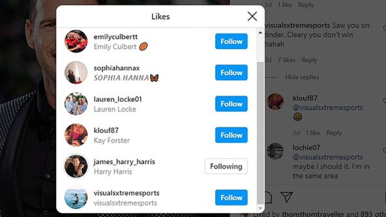 Harry 'liked' a comment that suggests he doesn't win