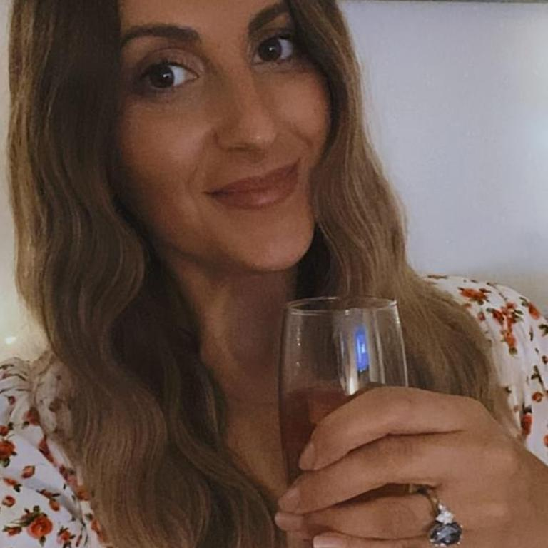 Irena sparked engagement rumours while she was in lockdown with Locky.
