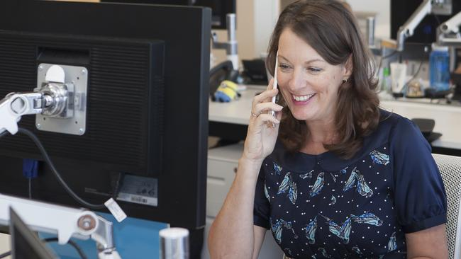 Twitter Australia managing director Karen Stocks: 'The ride hadn't always been easy, particularly when it comes to balancing a career with family life and the societal expectations of what is considered appropriate parenting'. Picture: Supplied