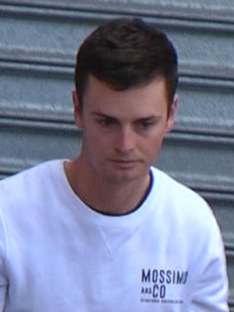 Jordan Grantham. Picture: Nine News