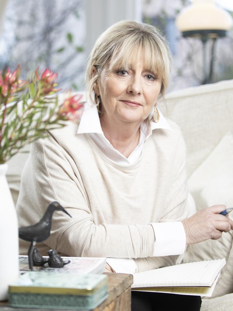 Journalist and author Debi Marshall. Picture Eddie Safarik