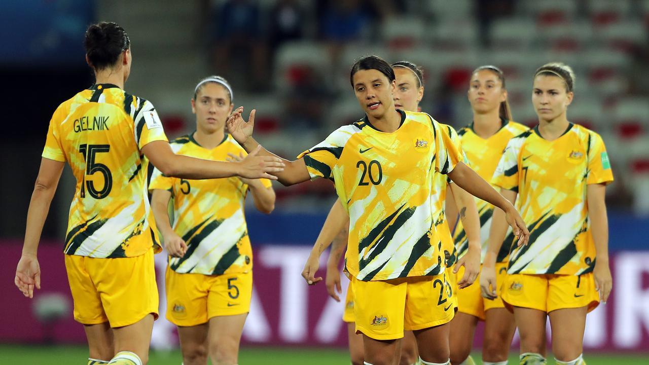 Sam Kerr's class shone bright as the Matildas were sent packing.
