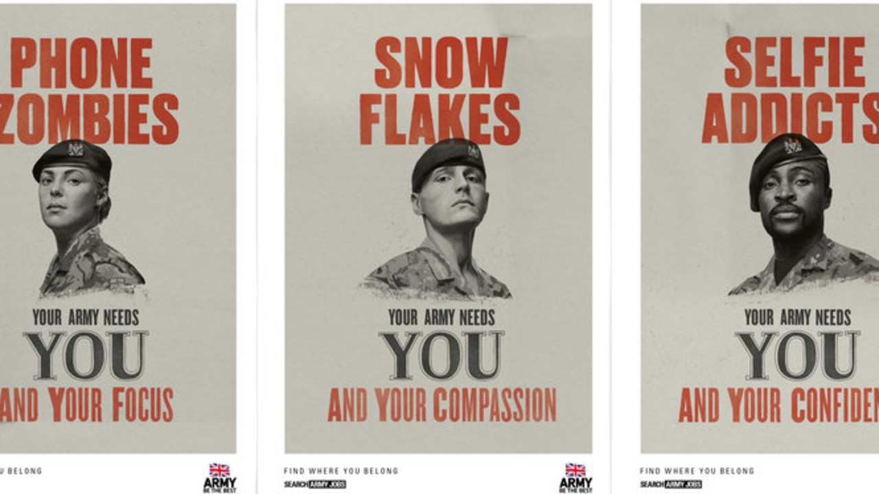 The recruitment campaign hopes to repeat the success of this year's 'Snowflake' campaign