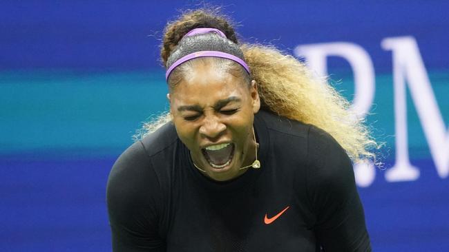 'Holy crap': Serena topples teen freak