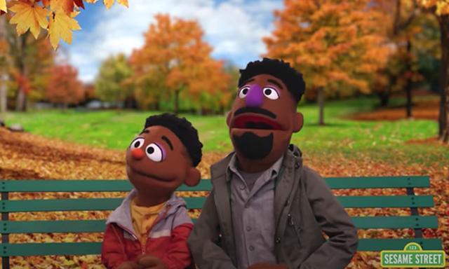 sesame street black muppet characters